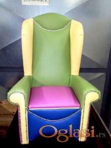 Dečija fotelja 2 - manja, veća